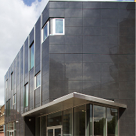 Aliva hones edgy finish for new East London community building