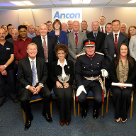 Second Queen's Award presentation for Ancon