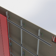 BIM objects for cladding support systems now available from NVelope