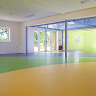 Sika donates colourful flooring systems to Rainbow House
