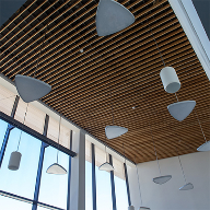 Hunter Douglas ceiling for University of Strathclyde