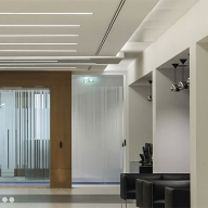 Individual lighting solution for Canary Wharf office project