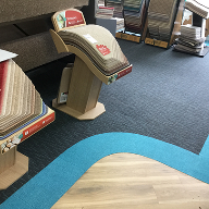 Heckmondwike's carpets on show in refurbished showroom