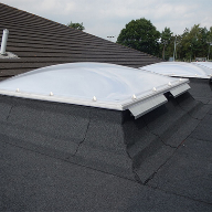 Em-Dome ECO rooflights from Whitesales