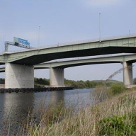 Flexcrete provide cover and chloride protection for Thelwall Viaduct