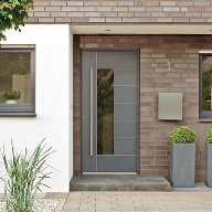 Enhanced choice of panels for Schueco range of doors
