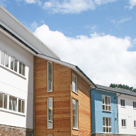 RenderClad rainscreen system for Penryn student accommodation
