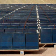 Groundbreaking solar heating installation for mining company