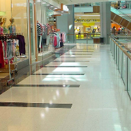 Natural stone floor for Australian Shopping Centre