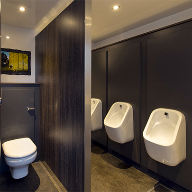 Paraline Platinum toilet cubicle for Loos for Do's