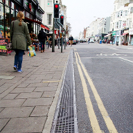 FASERFIX® channels solve tricky surface drainage on Western Road