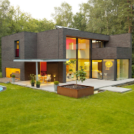 Schüco windows and door systems for private home