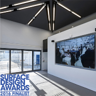 Acoustic GRG project shortlisted for a Surface Design award