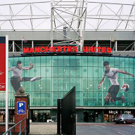 John Anthony Signs at Manchester United stadium