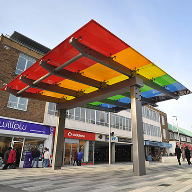 Bespoke Canopy for Marlowes Shopping Area