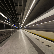 Hunter Douglas acoustic ceiling for Delft underground station