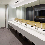 Maxwood luxury washrooms for London's Broadgate Quarter