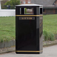 Conquer your litter problems with Invicta™ Litter Bin