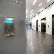 KONE Destination Control System at Severn Trent Centre