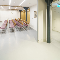 Sika ComfortFloor specified for lecture room