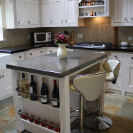 Architectural Worktops From Bedrock Tiles at Pottersbury