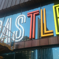 Illuminated letters for Castle Leisure Centre