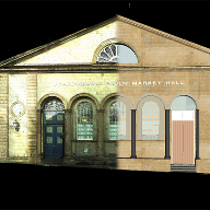 Hobs Studio complete laser scanning of listed building