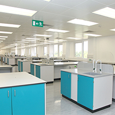 ALS laboratory furniture for Milton Science Park