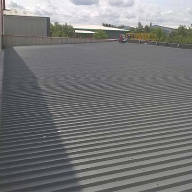 Wecryl waterproofing system for industrial building
