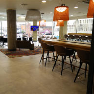 Porcelain floor tiles for Birmingham aparthotel