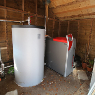 PelletTop Wood Boiler for home