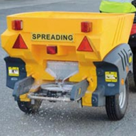 New Turbocast 800 Gritter for ice-free grounds