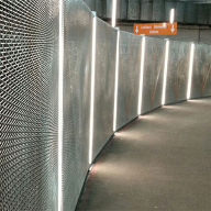 Architectural mesh for Midtown Cycle Vault