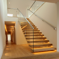 Cantilever Stairs & New Metal Finishes at Ecobuild