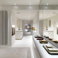 Diespeker terrazzo brings ambiance to a Mayfair refurb