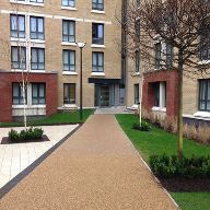 RonaDeck Resin Bound Surfacing at student accommodation