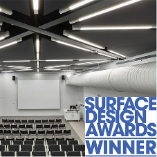 Acoustic GRG project wins Surface Design award