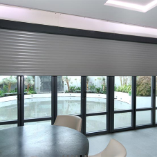 Equilux security shutters for luxurious London property