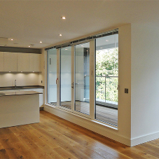 Underfloor heating for luxury Wimbledon apartments