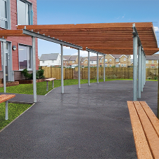 External canopies for Thistle Hill Primary School