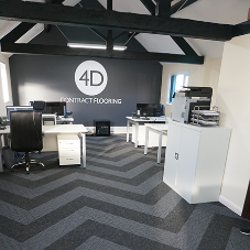 4D Contract Flooring gets creative with carpet planks