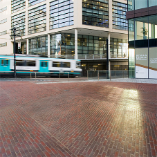 Wienerberger clay paving for Piccadilly Place