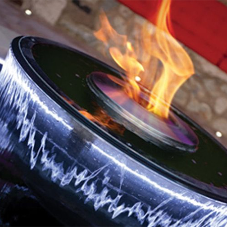 "Smart Fire products create a ""chalice of fire"""