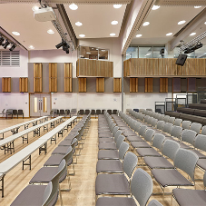 Acoustic wood products for Putney High School
