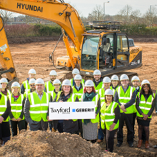 Building work begins on new Geberit headquarters