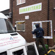 Samaritans office kitted out with VEKA M70
