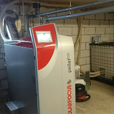 PelletTop Wood Boiler for Westwood Guest House