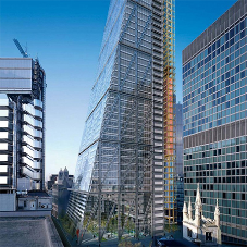 Stainless steel products for the Cheesegrater building
