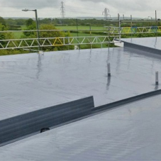 GRP roofing system for Fillingham Court
