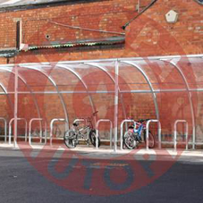 Stratford Cycle Shelter from AUTOPA